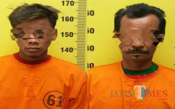 Pelaku dan penadah dalam Curanmor di Tulungagung / Foto : Dokpol / Tulungagung TIMES