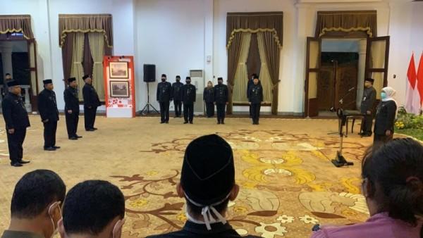 Kepala Bakorwil Malang Sjaichul Ghulam Dilantik Jadi Pjs Bupati Malang