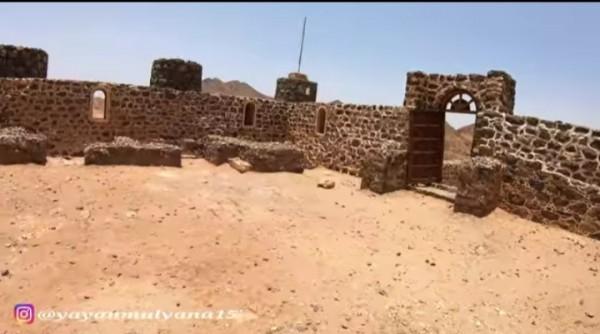 Wadi Usfan, saksi bisu perjalanan para Nabi menyebarkan syiar Islam (Youtube Alman Mulyana).