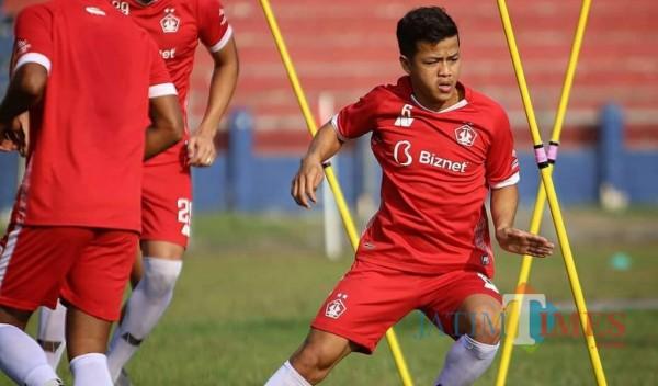 Krisna Bayu Otto Kartika pemain Persik Kediri (ist)