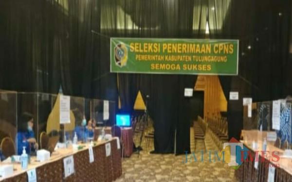 Tempat di selenggarakan SKB CPNS di Tulungagung / Foto : Istimewa / Tulungagung TIMES