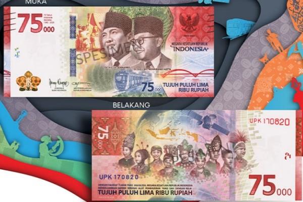 Uang Rp 75 ribu. (Foto:  Terbaiknews.net)