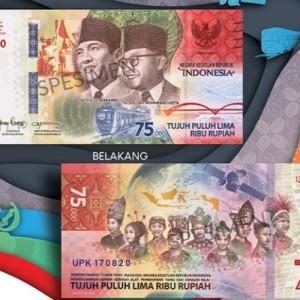 Uang Pecahan Rp 75 Ribu Bisa 'Nyanyi' Indonesia Raya lewat Aplikasi AR, Ini Kata BI