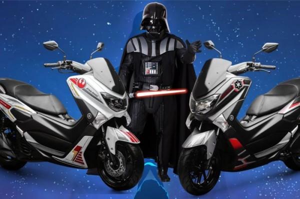 Yamaha NMax Edisi Star Wars Resmi Meluncur, Persediaan Terbatas