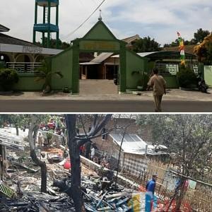 Dapur Yayasan Nurul Azhar Kendal Ludes Terbakar