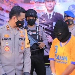 Rental Mobil, ASD alias Ano Ditangkap Polres Madiun