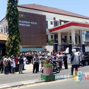 Dugaan Korupsi, Lembaga Nusantara Civil Society Organization Tuntut Kepala DLH Pamekasan Ditangkap