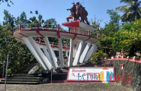 Monumen Tugu Trisula, saksi bisu penumpasan gerakan PKI di Blitar selatan