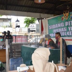 1 Jam, Operasi Yustisi di Kota Madiun Tindak 14 Pelanggar Prokes