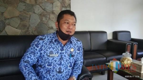 Wakil Juru Bicara Gugus Tugas Percepatan Penanganan Covid-19 Tulungagung, Galih Nusantoro (Joko Pramono for Jatim TIMES)