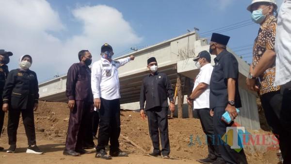 Progres Jembatan Kedungkandang Sudah 51%, Sutiaji Yakin Malang Timur Jadi Metropolitan