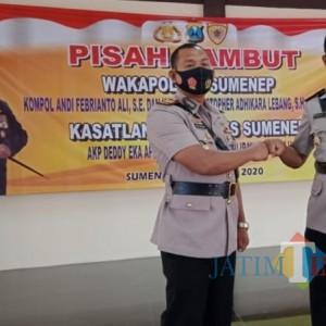 Demi Karir Anggota, Dua Jabatan Strategis di Polres Sumenep Ganti Personel