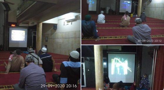Masjid di Malang Dijadikan Tempat Nobar Film G30S/PKI (Foto: Twitter @narkosun)