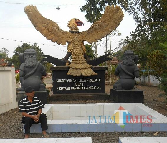 Monumen Pancasila Jaya di Cemetuk Cluring Banyuwangi (Nurhadi Banyuwangi Jatim Times)