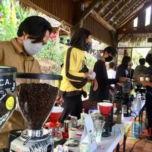 Hari Kopi Sedunia, 40 Barista se-Kota Batu Racik Kopi Songgoriti