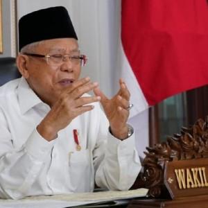 Foto Wapres KH Ma'ruf Amin Vs Kakek Sugiono Beredar, Penyebarnya Ternyata Ketua MUI Tanjungbalai