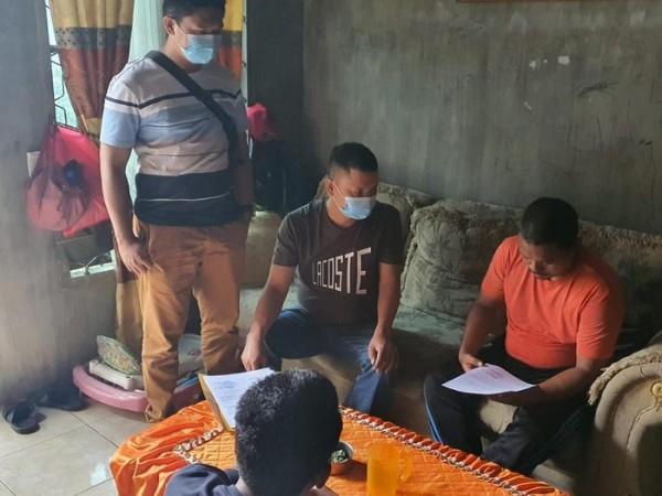 Pengunggah kolase Ma'ruf Amin dan Kakek Sugiono ditangkap. (Foto: IST detik.com)