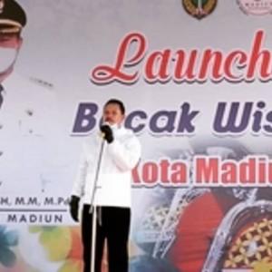 Pemkot Madiun Launching Becak Wisata,Geliatkan Perekonomian Masyarakat