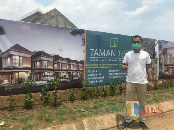 Rully Rachmat W, Manajer Taman Tirta. (Foto: Ima/MalangTIMES)