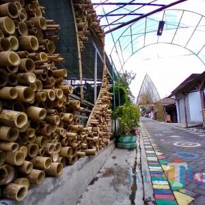 Pikat Wisatawan, Dusun Gerdu di Kota Batu Ini Pajang Ornamen-Ornamen Bambu Cantik Hingga Taman Toga