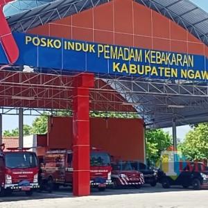 PMK Ngawi Ajukan Pembangunan Empat Pos Pemadam