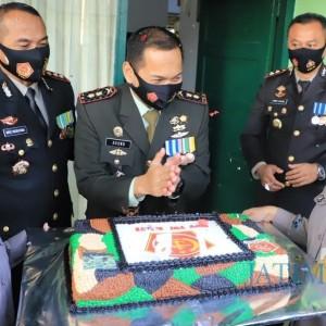 Sinergi, Kapolres dan Kapolresta Kediri Kunjungi Markas TNI