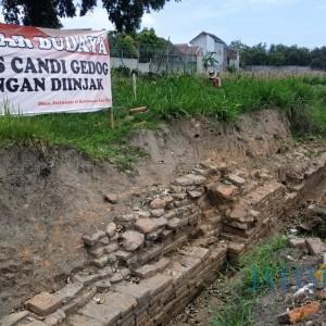 Ekskavasi Lanjutan Candi Gedog di Kota Blitar Dimulai, Warga Gelar Selamatan