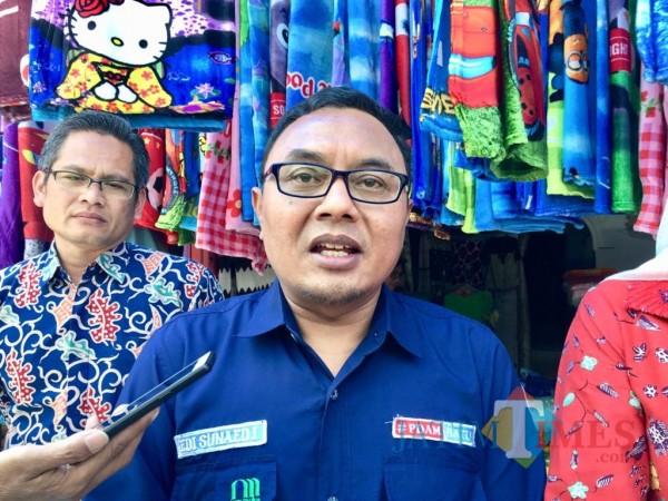 Direktur Perumdam Among Tirto, Sunaedi. (Foto: Irsya Richa/MalangTIMES)