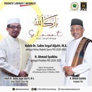 Punya Presiden Baru, PKS Kota Malang Optimistis Lebih Mumpuni