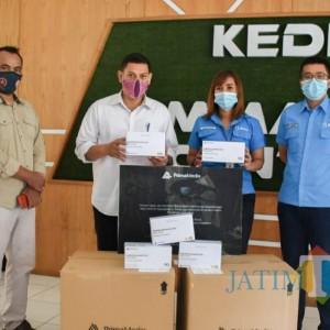 Terima Bantuan Masker, Wali Kota: Kita Akan Distribusikan untuk Tenaga Medis