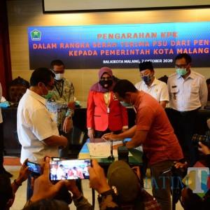 10 Perumahan Setorkan PSU ke Pemerintah Kota Malang