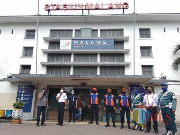 Polsus-Keamanan Stasiun Malang