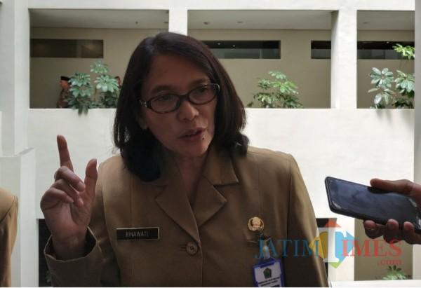 Kepala DLH Kota Malang, Rinawati (Hendra Saputra)