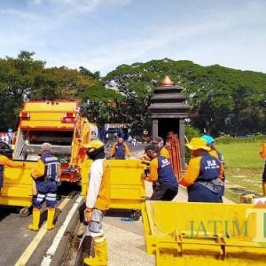 Pasca Aksi Rusuh, Pemkot Lakukan Bersih-Bersih, Ini Sejumlah Aset yang Rusak