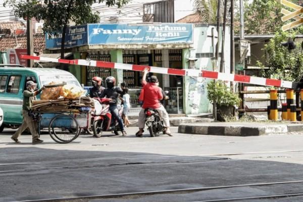 Hingga Oktober 2020, Terjadi 22 Laka Lantas di Wilayah PT KAI Daop 8 Surabaya