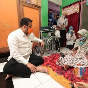 Aksi Wali Kota Probolinggo Bantu Warga Kurang Mampu