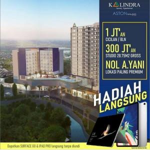 Beli Apartemen The Kalindra Bonus Tablet, Cuma 20 Unit!