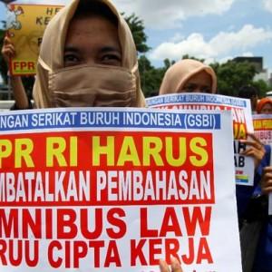 Usai Mahasiswa-Buruh, Giliran Ormas yang akan Demo Tolak Omnibus Law UU Cipta Kerja
