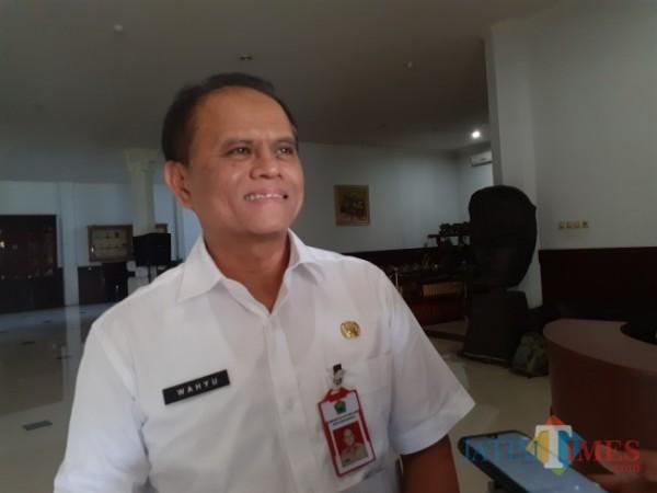 Kepala Dinas Koperasi Perindustrian dan Perdagangan (Diskopindag) Kota Malang Wahyu Setianto. (Arifina Cahyanti Firdausi/MalangTIMES).