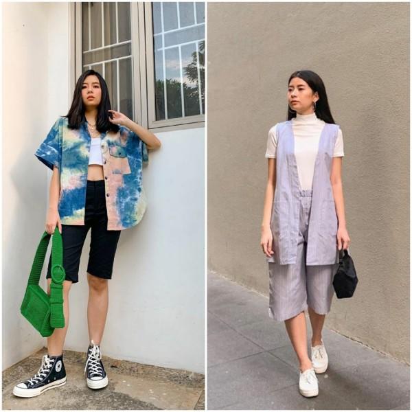 Outfit kasual hingga formal dengan celana pendek. (Foto: Instagram @jaclynariandra).