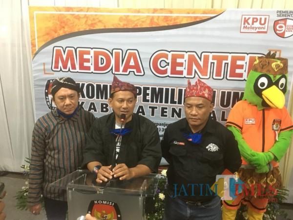 Bakal Pasangan Calon Bupati dan Wakil Bupati Malang dari jalur independen, Heri Cahyono-Gunadi Handoko. (Foto: Dok. JatimTimes)