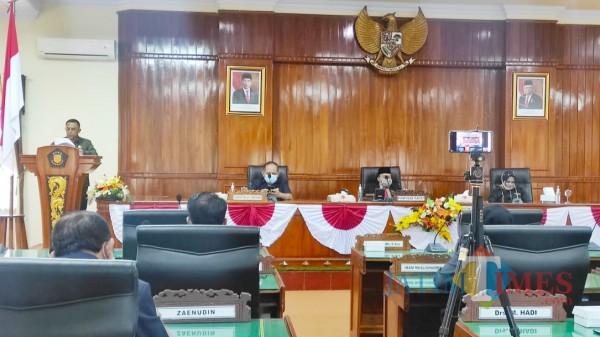 Sudah Ditunggu, Fraksi DPRD Trenggalek Sampaikan Pandangan Umum Dua Ranperda