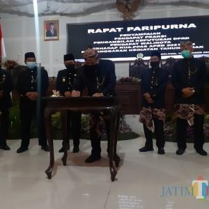 Dok! KUA-PPAS APBD 2021 Disahkan DPRD Kota Malang