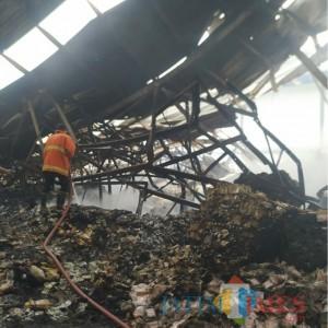 Oktober Marak Terjadi Kebakaran di Kabupaten Malang, Kerugian Mencapai Ratusan Juta
