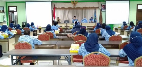 Fasilitasi BOS Jenjang SD dan SMP Dinas Pendidikan dan Kebudayaan (Disdikbud) Kota Malang. (Foto: istimewa)