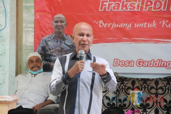 Ketua Banggar DPR RI dari Fraksi PDI Perjuangan MH Said Abdullah sewaktu menggelar reses di Kabupaten Sumenep (Foto: Ist/JatimTIMES)