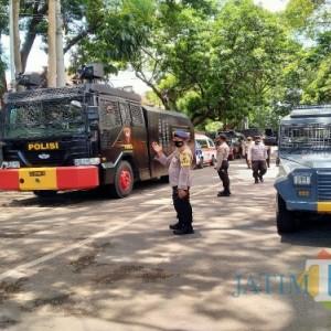 Parkiran DPRD Kota Malang Kosong Kendaraan, Steril Antisipasi Demo Ricuh