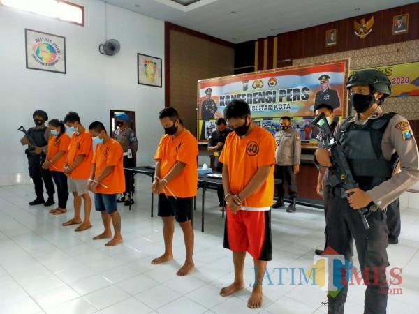 Berkat Pasta Gigi, Penyelundupan Sabu ke Rumah Tahanan Polres Blitar Kota Terbongkar