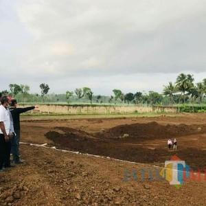 Bupati Lumajang Optimis Sirkuit BMX Selokambang Selesai Desember