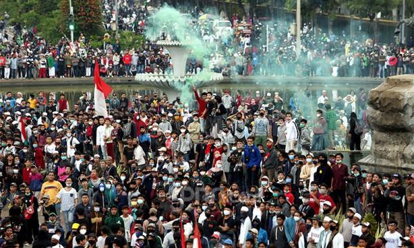 Demo aksi 1310 (foto: JPNN)
